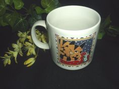 $6.96 or best offer The Proverb Tree Coffee Cup Mug Cat Mouse Humor Novelty