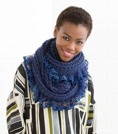 Vortex Ruffled Cowl