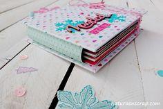 Mini album navidad Snow and Cocoa