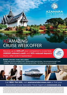 Cruise Week 2014 - Azamara Club Cruises