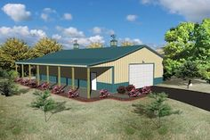 32'W x 63'L x 12'H Agricultural With 8' Overhang at Menards®: 32'W x 63'L x 12'H Agricultural With 8' Overhang