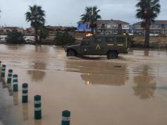 Dos fallecidos y 150 desalojados en Los Alcázares a causa del temporal