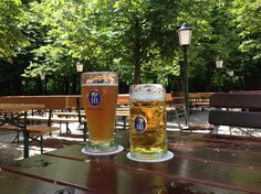 Aumeister, Munich (photo by F.D. Hofer). #beer #Munich #biergarten