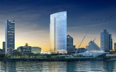 Northwestern Mutual Life Insurance Co. has just unveiled designs for its glassy, 32-story office tower that it says will