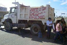 Nuevo bloqueo carretero en Juchitán.