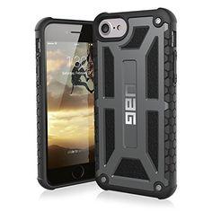 Mehr Infos Urban Armor Gear Premium Monarch Schutzhülle Nach  US Militärstandard Für Apple IPhone 8 / 7 / 6S / 6   Graphite [Verstärkte  Ecken | Sturzfest ...