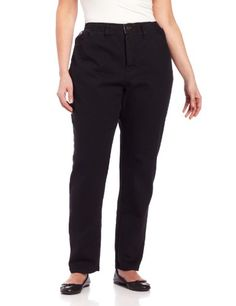 Lee Women's Plus Hidden in Waist Side-Elastic Stretch Fabric Jean
