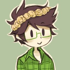Homestuck Flower crown Jake English