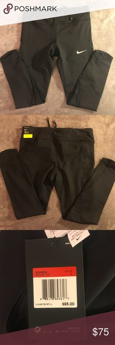 NIKE Epic Lux Women's Running Leggings NIKE Epic Lux Tight Fit Women's Running Leggings! Super comfortable and perfect for working out or everyday wear! Pocket on the side and on the waistband in the back. Never worn, NWT.  PRICES ARE NEGOTIABLE, just ask! Nike Pants Leggings