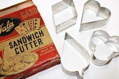 Tala Card Suits Shaped Aluminium Sandwich Cutters by GillardAndMay