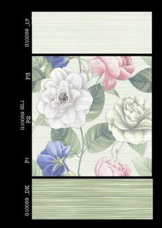 G_10059 - Millennium Tiles 250x750mm (10x30) Digital #Ceramic Large Format Glossy #WallTiles  - G_10059_LT  - G_10059_HL1 P3  - G_10059_HL1 P2  - G_10059_HL1 P1  - G_10059_DK - Digital Tiles: Digital tiles will have a single coat of pigment nearly 1or 2 mm. It is not suitable for heavy traffic. As the name suggests, any design can be printed on this types of tiles or u can even customize the design of tile with ur photo or any picture. #interiors
