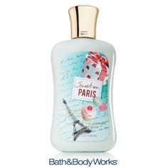 NEW Sweet on Paris Body Lotion — nourish your skin with an enticing medley of juicy blackberry, lemon meringue & creamy vanilla! ♥ #LUVBBW
