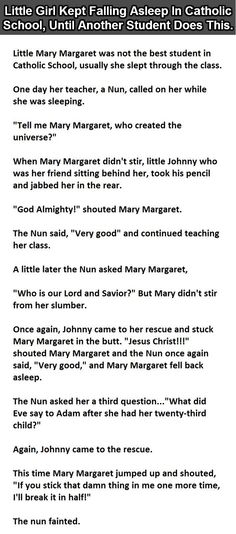...Little Mary Margaret