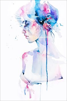 Loss by Agnes Cecile Fine Art Prints available from $48 at EyesOnWalls.com  http://www.eyesonwalls.com/collections/fine-art-prints-by-agnes-cecile/products/loss-fine-art-print