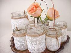 8 Idéias lindas para decorar vidros - * Decoração e Invenção *