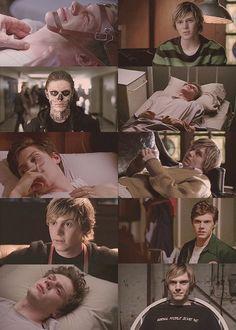 Kit Walker / Tate Langdon / American Horror Story Asylum / Evan Peters / Kit wins!