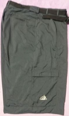 GRAY Adidas Climalite Sz 46 Big Tall Mens Cargo Pocket Hiking Light Cool Nylon Shorts w/belt Golg  Good shape .  Nice weight and feel.  I am listing some of my others too if ...   https://nemb.ly/p/Vk40RYbsb Happily published via Nembol