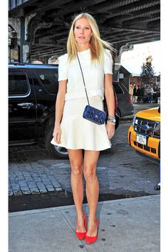 GWYNETH PALTROW  A bonafide movie star, Gwyneth Paltrow has perfected her signature blend of trendy elegance so well that it's turned into a business of its own