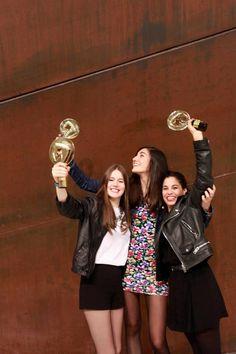 The Dream Team. Marta, Sandra and Aida.