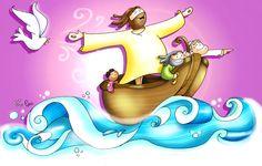 Odresnuevos Evangelio 10 abril 2016 color Jesus Cartoon, Jesus Artwork, Catholic Catechism, Bible Stories, Bible Art, Religious Art, Jesus Loves, Gods Love, Jesus Christ