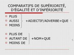3º ESO. Les comparatifs   Francale