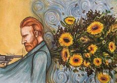Find images and videos about art, painting and sunflower on We Heart It - the app to get lost in what you love. Vincent Van Gogh, Van Gogh Tapete, Van Gogh Wallpaper, Art Sketches, Art Drawings, Van Gogh Art, Van Gogh Paintings, Foto Art, Yellow Painting