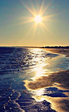 Capturing the Sunset: Folly Beach, SC – Simply Taralynn