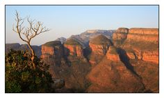 The Three Rondavels in South Africa. Amazing.
