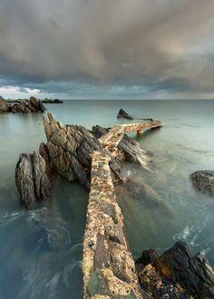 "Celtic:  An tSruibh Bhrain (""Raven's Beak""), County Donegal, Ireland, by Pawel Klarecki."