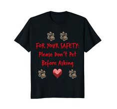 Dog Animal Rescue Canine Pet Public Safety Alert T-Shirt ...
