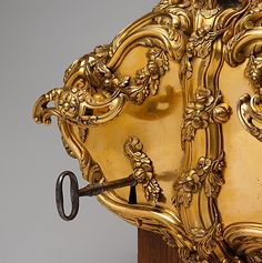 Door Lock and Key      Date: ca. 1770     Culture: probably Austrian, Vienna