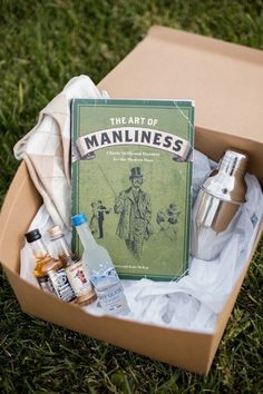 great groomsmen gifts...The Art of Manliness