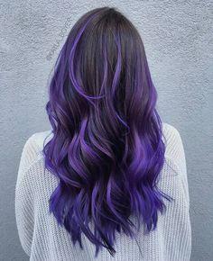 dark purple ombre