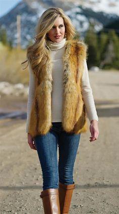 GOLDEN FOX VEST ~ love!
