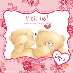 Dear Forever Friends Fans, we hope you'll participate in our fantastic #Valentine Contest for a chance to win a personalized bear every day. Follow the address http://www.foreverfriends.co.uk/countdown-to-valentines and let the fun begin! xxx