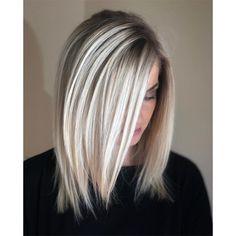 High-Contrast Foilayaged Blonde