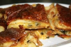 Lasagna, French Toast, Breakfast, Ethnic Recipes, Terra, Gastronomia, Diet, Italia, Sardinia