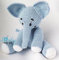 Ravelry: Amigurumi Elephant pattern by Viktorija Dineikiene