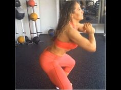 LYZABETH LOPEZ - Personal Trainer and Fitness Model: Exercises for Butt, Legs and Abs @ Canada - YouTube