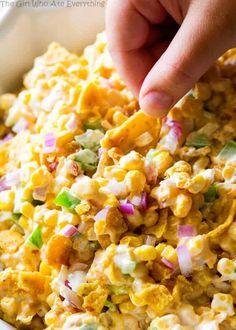 Corn Salad Recipe With Fritos.Frito Corn Salad The Girl Who Ate Everything. Frito Corn Salad The Girl Who Ate Everything. Easy Recipes: Frito Corn Salad CrystalandComp Com. Corn Chip Salad, Frito Corn Salad, Fritos Corn Chips, Frito Corn Dip, Corn Dip With Fritos, Corn Salad With Fritos Recipe, Hot Corn Dip, Frito Pie, Corn Salad Recipes