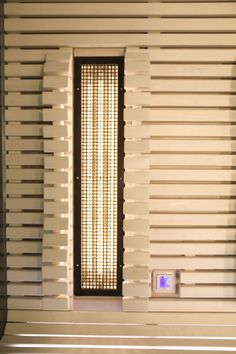 Individually controlled infrared sauna panel Infrared Sauna, Blinds, Home Decor, Decoration Home, Room Decor, Shades Blinds, Blind, Home Interior Design, Draping