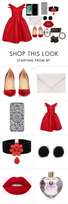 """ready for NEW YEAR EVE???"" by megi-queen on Polyvore featuring Christian Louboutin, Verali and Vera Wang"
