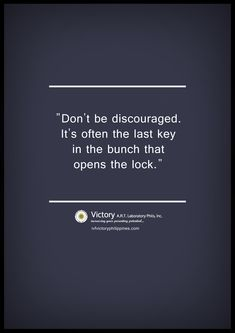 Don't be discourage. #IVF #infertility