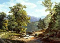 Работы художника Михаила Сатарова. Часть 2. Пейзажи. (25 фото)