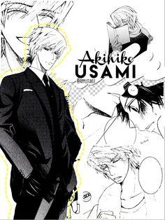 Akihiko Usami | Junjou Romantica | manga | three part set (3/3) | my edit (@Appletaku on Instagram) do not steal