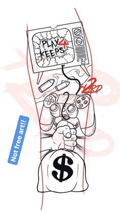 Half Sleeve Tattoo Stencils, Half Sleeve Tattoos Drawings, Half Sleeve Tattoos Designs, Tattoo Designs Men, Forearm Tattoo Quotes, Forearm Sleeve Tattoos, Forearm Tattoo Design, Best Sleeve Tattoos, Cloud Tattoo Design