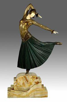 Demetre Chiparusm, Art Deco