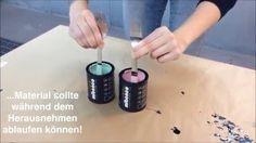 Besteck bunt dippen mit mibenco Flüssiggummi PUR Pastellfarben
