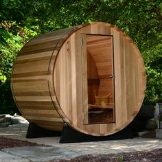 Finns set aside at least an hour a day for sauna. Want one in your own home? Call Salus Saunas at Dry Sauna, Steam Sauna, Indoor Sauna, Indoor Outdoor, Sauna Kits, Barrel Sauna, Traditional Saunas, Hot Steam, She Sheds