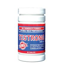 Dr. Venessa's Testrong Optimal Male Performance (1000mg 60 Tabs)